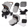 Stomp V3 Black Travel system with ISOFIX (silver)