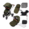 Special Edition Stomp V4 ISOFIX Travel System (Woodland chrome)