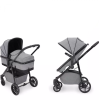 Moon 2-in-1 Carrycot & Pushchair (Space Grey & Black)