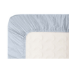 Boori Cot Bed Fitted Sheet (132 x 70cm) - Blue