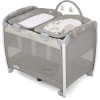 Excursion Change and Bounce Travel Cot (in the rain)