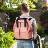 baby changing back pack Top 'n' Tail eco (Rose)