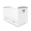Coleby Style Cot Bed & Under Drawer (Sloth Grey)