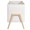 Torsten Two Piece Cot Bed And Dresser- White