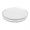 Round cot circular mattress inc 1 fitted cotton sheet