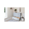 Boori 3 Drawer Dresser with Squared Changing Station (Pebble Grey)