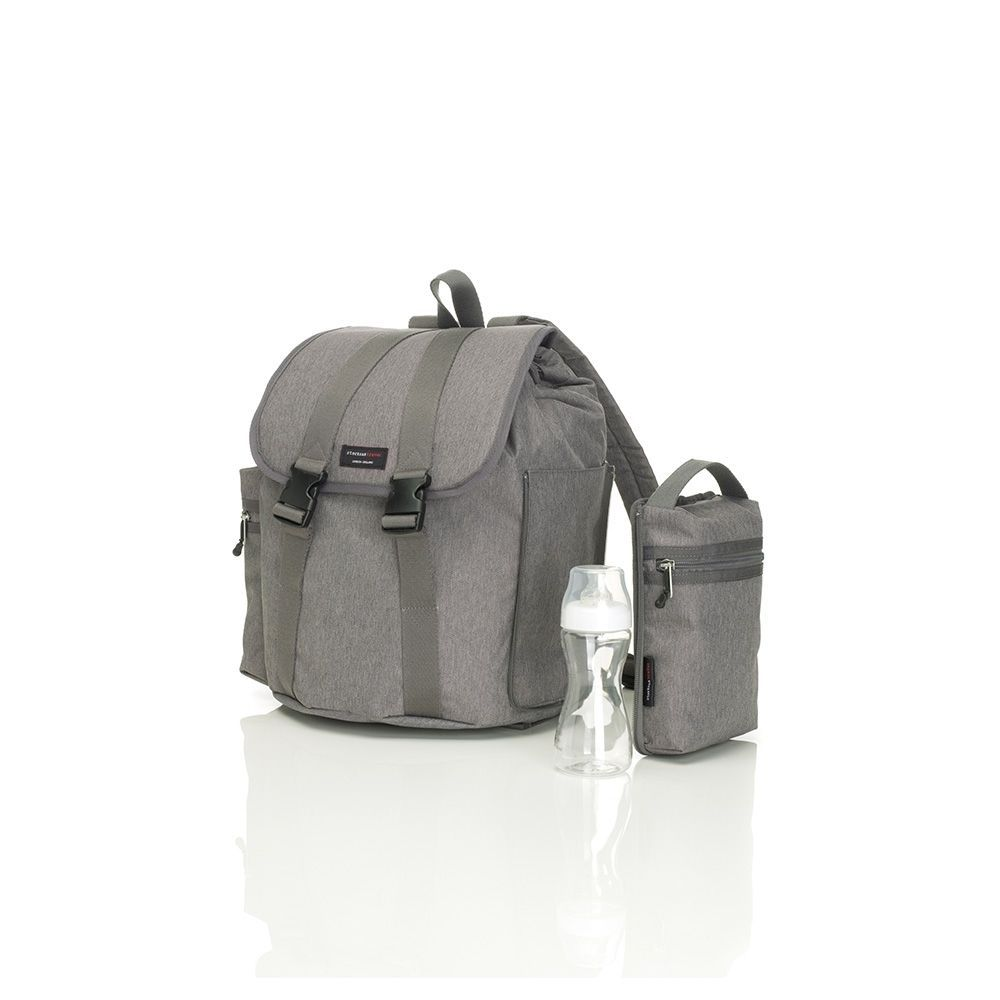 BABY CHANGING BACKPACK (GREY)