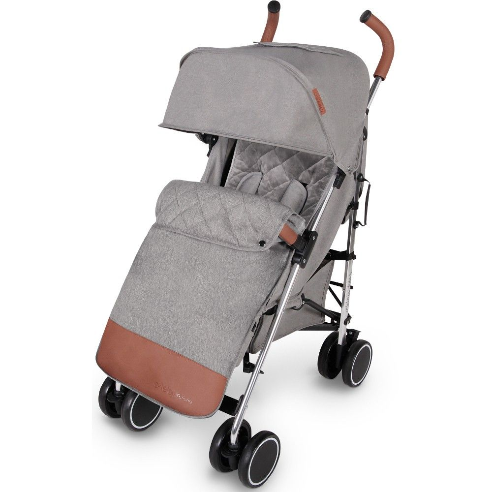 DISCOVERY STROLLER MAX (GREY ON SILVER)