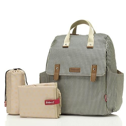 Baby changing Convertible back pack robyn (navy stripe)