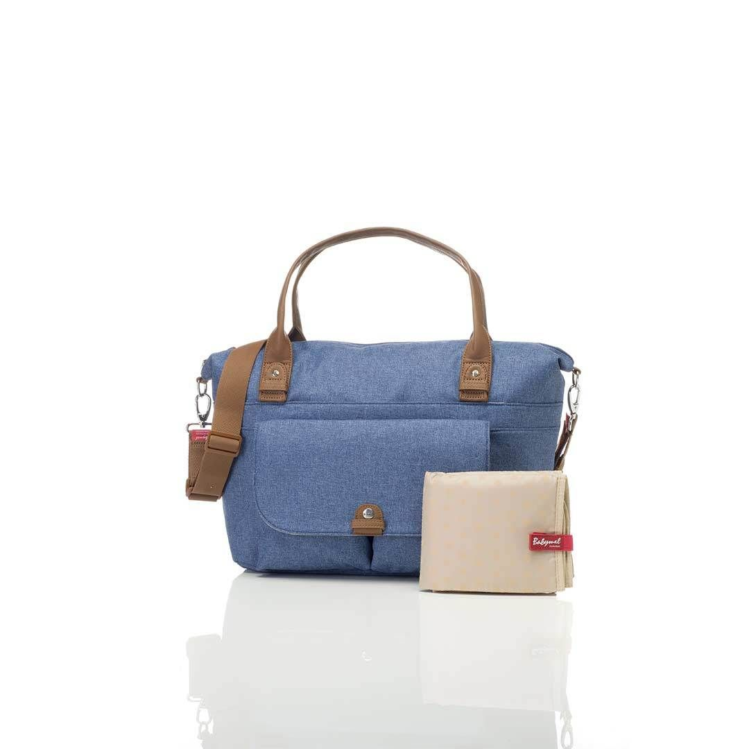 baby changing bag jade (mid blue)