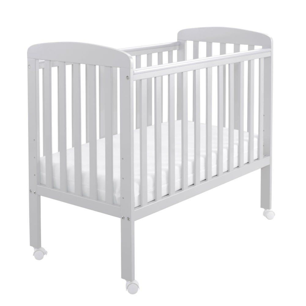 Space Saver Cot with Wheels (Grey)