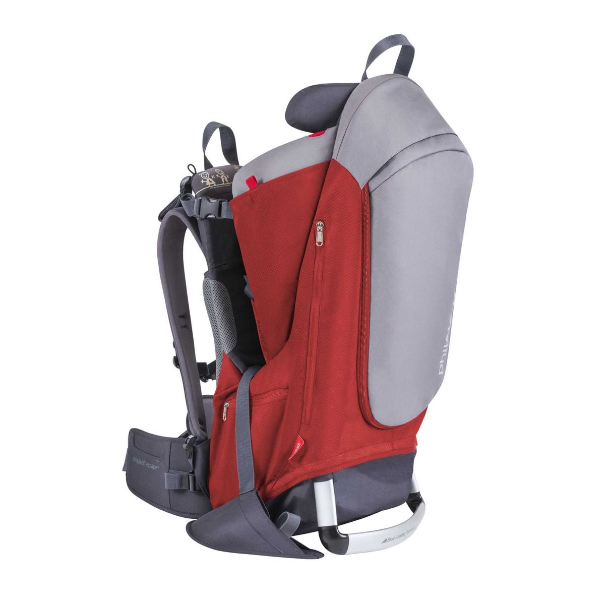 Escape Carrier - Red/Grey