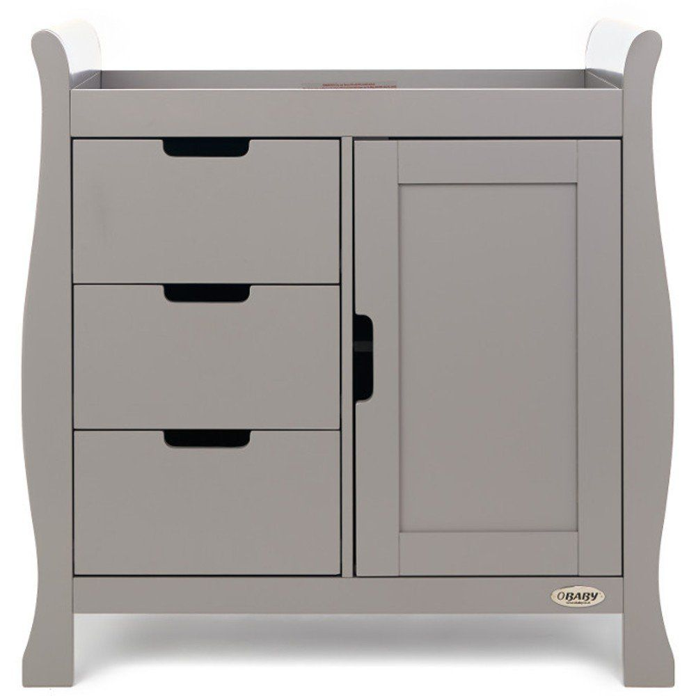 Stamford Closed Changing Unit - Taupe Grey