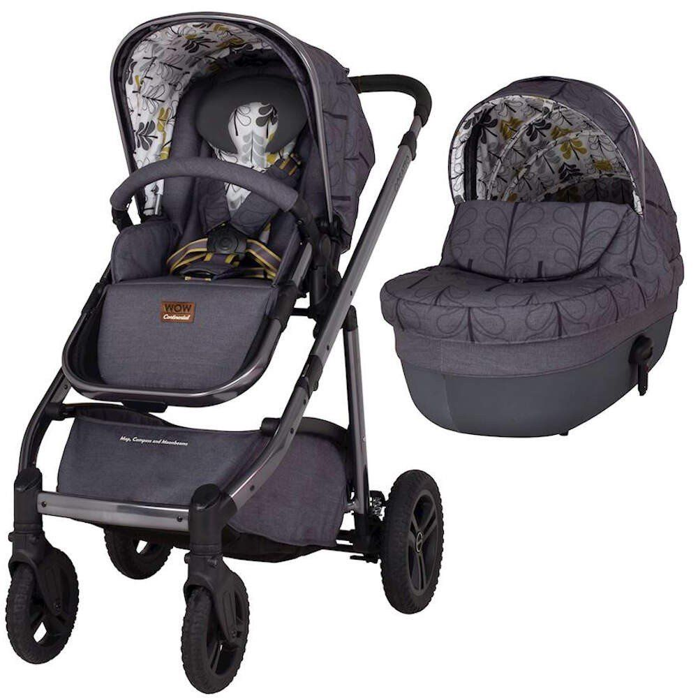 Wow Continental Pram and pushchair Bundle (Fika forest)