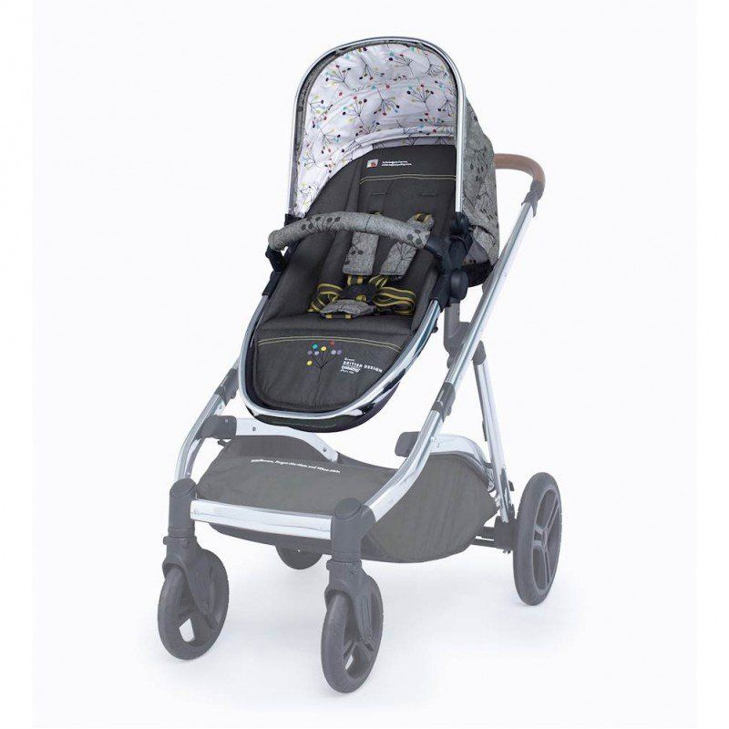 Wow XL Seat Unit (to add for 2nd child) - Hedgerow