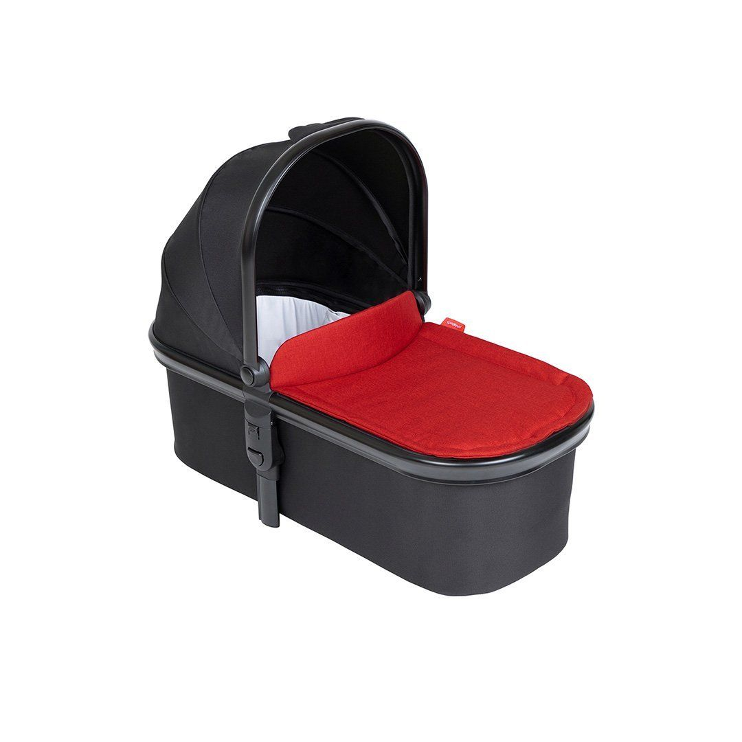 Snug Carry Cot and Liner - Chilli