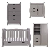Stamford Luxe 4 Piece Room Set - Taupe Grey