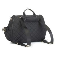 baby changing bag POPPY QUILT BLACK