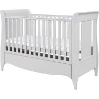 Roma Sleigh Cot Bed (Dove grey)