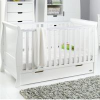 Stamford Classic Cot Bed - White