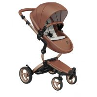 Xari 3-in-1 Pushchair (Camel Flair/Rose Gold Chassis)