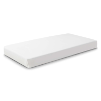 Boori Cot Bed Fitted Sheet (132 x 70cm) - White