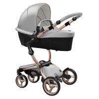 Xari 3-in-1 Pushchair (Argento/Rose Gold Chassis)