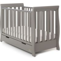 Stamford Mini Cot Bed - Taupe Grey