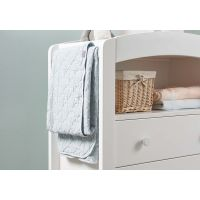 Curved 2 Drawer Chest Changer (White)