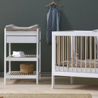 Changing Table - White/Natural
