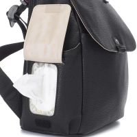 Baby changing Convertible Backpack Robyn Vegan leather (black)