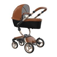 Xari 4G Complete Travel System - Camel on Champagne
