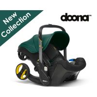 Infant Isofix Car Seat Stroller (Racing green)