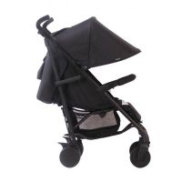 AM to PM MB51 Charcoal Stripes Rose Gold Stroller