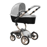 Xari 3-in-1 Pushchair (Argento/Champagne Chassis)