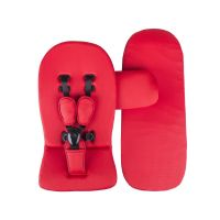 Xari 4G Complete Travel System - Snow White on Champagne