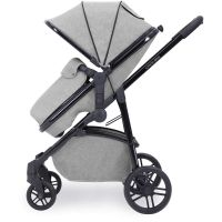 Moon Travel System With ISOFIX (Silver grey & Black)