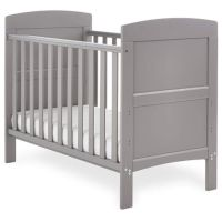 Grace Mini Cot Bed - Taupe Grey