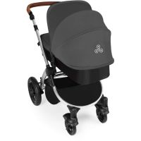 Stomp V3 Silver Travel system with ISOFIX (Graphite)