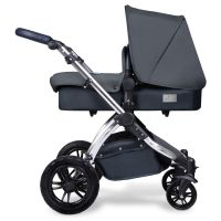 ICKLE BUBBA STOMP V4 SPECIAL EDITION 2 IN 1 PUSHCHAIR & CARRYCOT (Blueberry chrome)