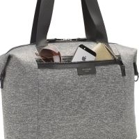 BABY CHANGING BAG STEVIE LUXE SCUBA (GREY MARL)