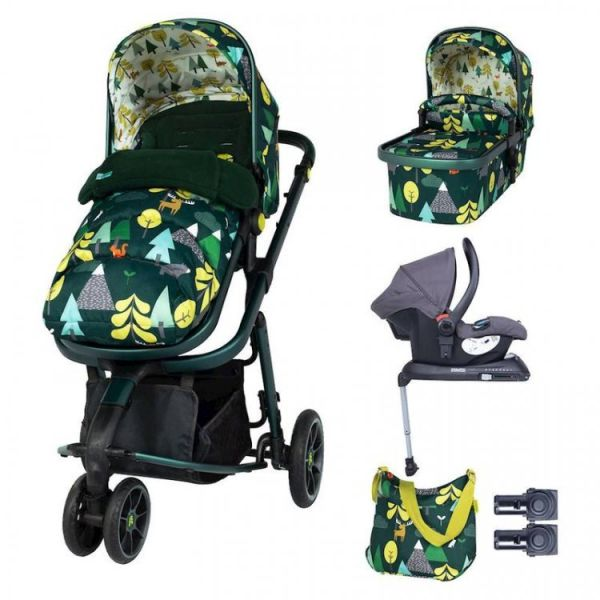 Giggle 3 Whole 9 Yards Hold Isofix Travel System Bundle - Into The Wild