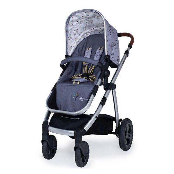 Wow 2 Pram and Pushchair (Indies Exclusive) - Hedgerow