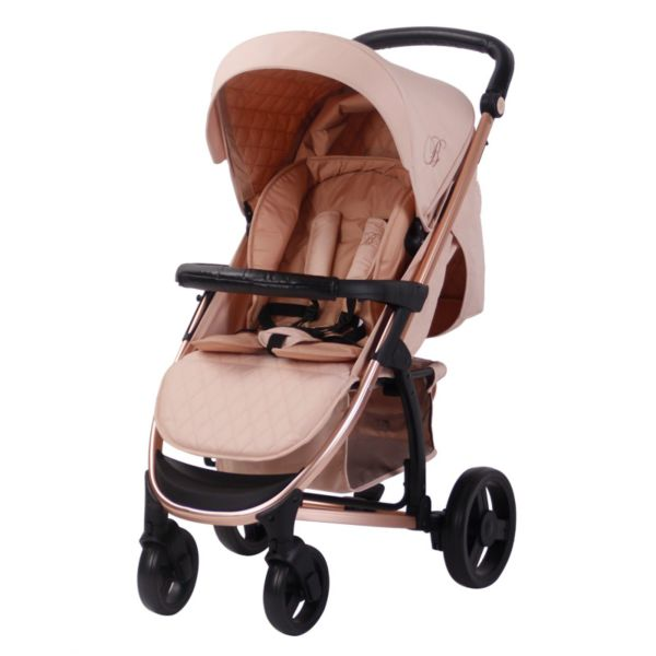 Billie Faiers MB200+ Rose Gold and Blush Pushchair