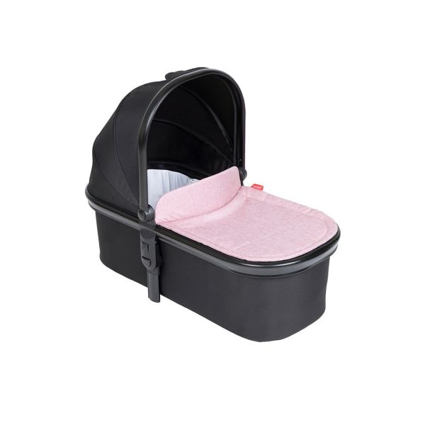 Snug Carry Cot and Liner UK - Blush