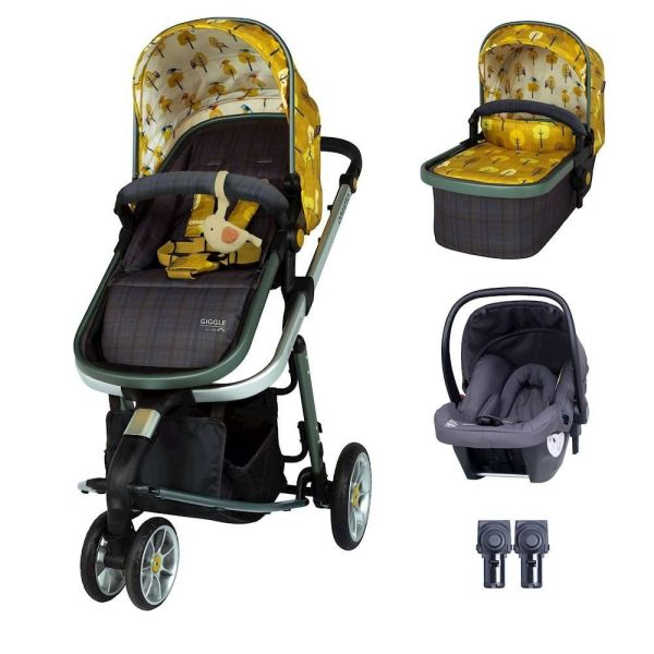 Giggle 3 Hold Travel System Bundle - Spot The Birdie