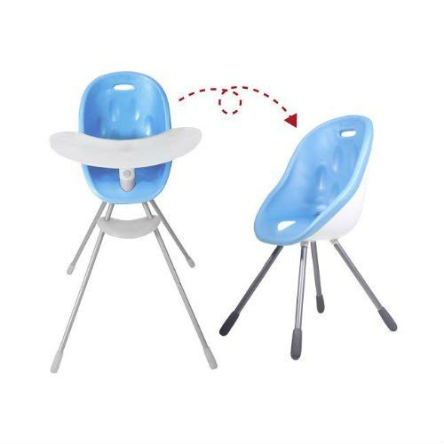 Poppy Highchair - Bubblegum Blue