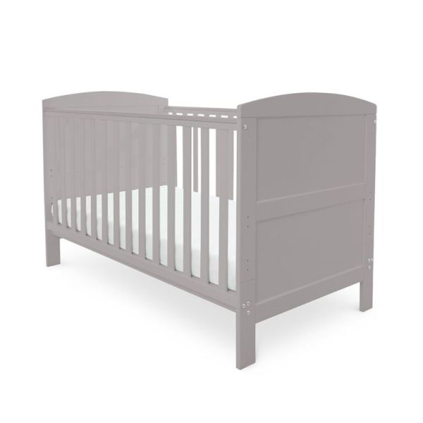 Coleby Classic Cot Bed & Pocket Sprung Mattress (Grey)