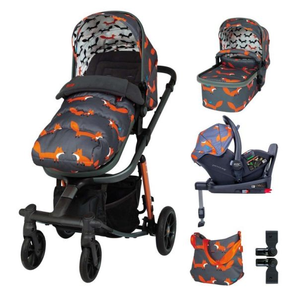 Giggle Quad Everything Bundle - Charcoal Mister Fox