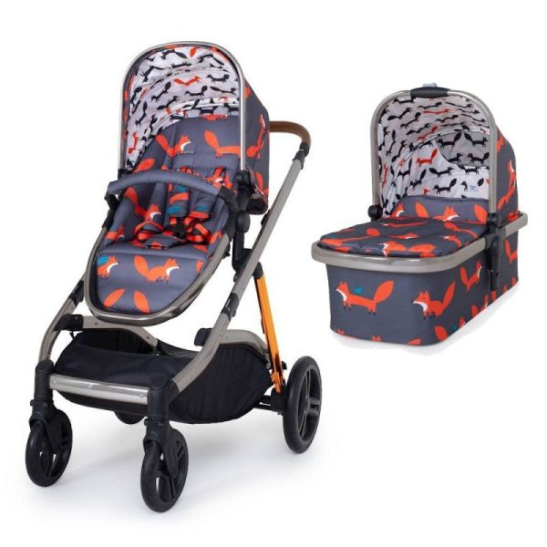 Wow XL 3 IN 1- Charcoal Mister Fox
